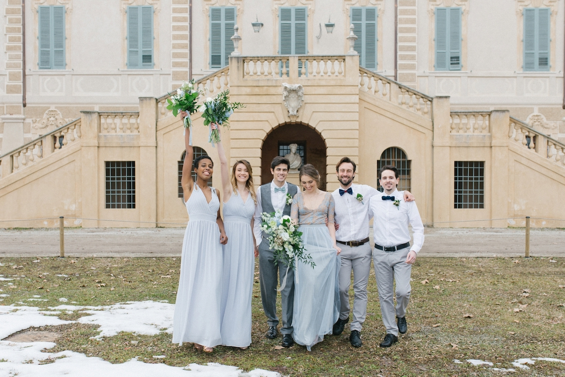 Gorgeous Winter Blue Wedding Inspiration – Irene Fucci 52