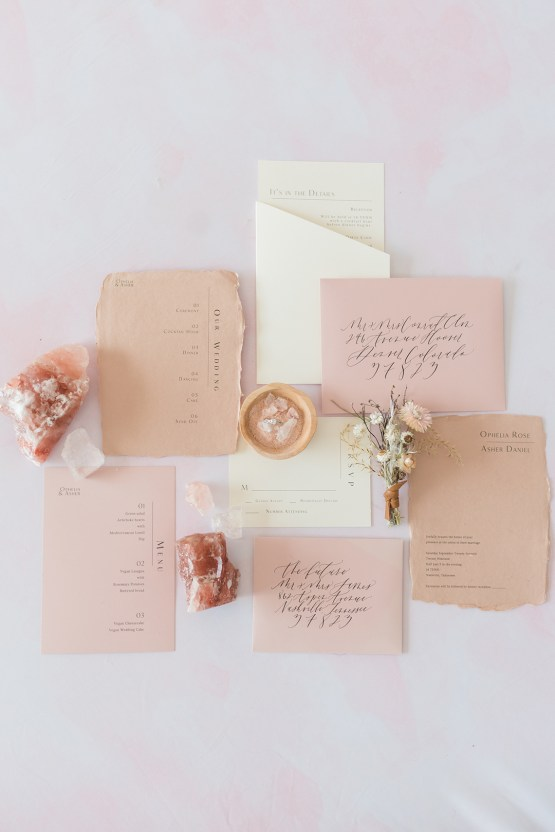 Pretty Pink Sustainable Wedding Inspiration – Mandy Liz Photography 15
