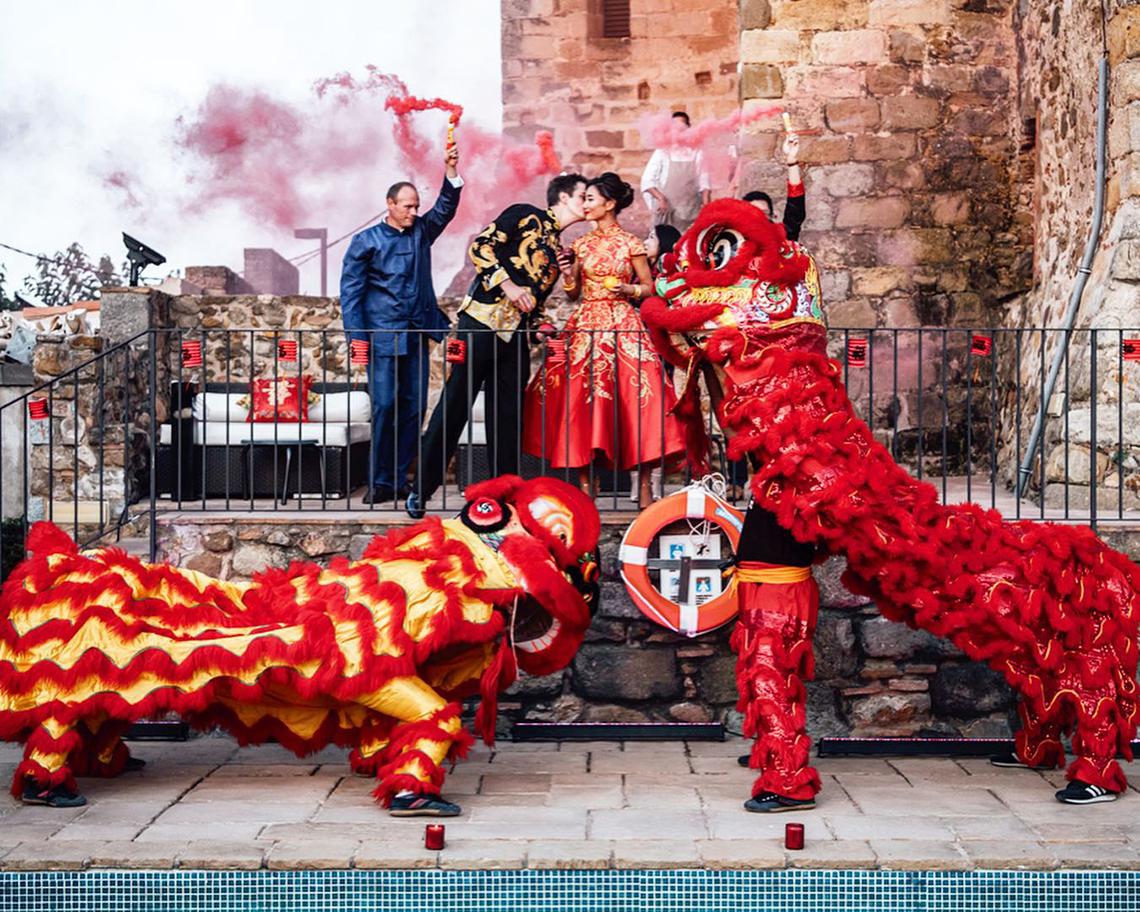 Romantic Multicultural Spanish Destination Wedding – Tali Photography 52