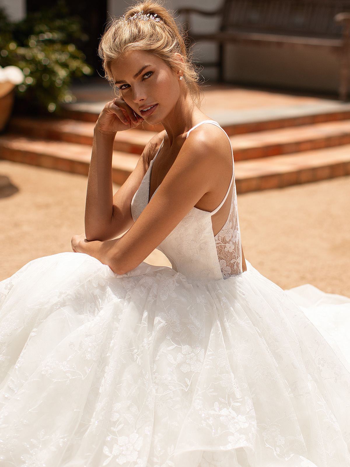 10 Gorgeous Ball Gown Wedding Dresses – Moonlight Bridal – J6782_C