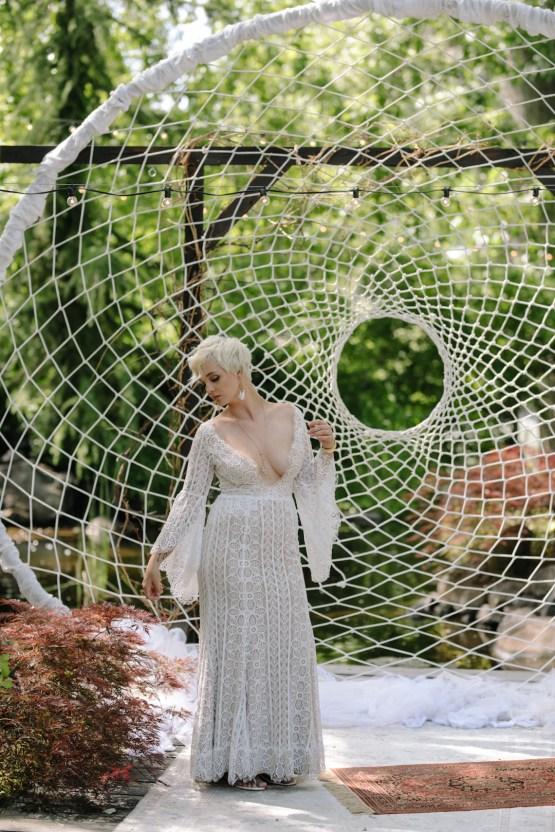 Dreamcatcher Bohemian Wedding Inspiration – Gissell Weddings – Corey Fox Photography – Rue de Seine Bridal 11