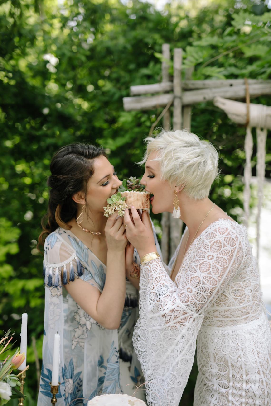 Dreamcatcher Bohemian Wedding Inspiration – Gissell Weddings – Corey Fox Photography – Rue de Seine Bridal 32