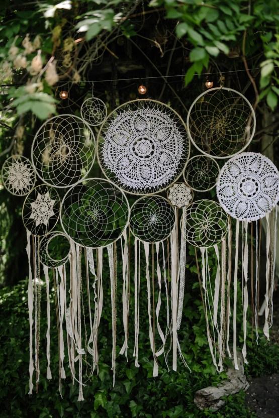 Dreamcatcher Bohemian Wedding Inspiration – Gissell Weddings – Corey Fox Photography – Rue de Seine Bridal 35