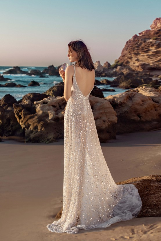 Galia Lahav Gala IX Wedding Dress Collection – Bridal Musings – G-403-back