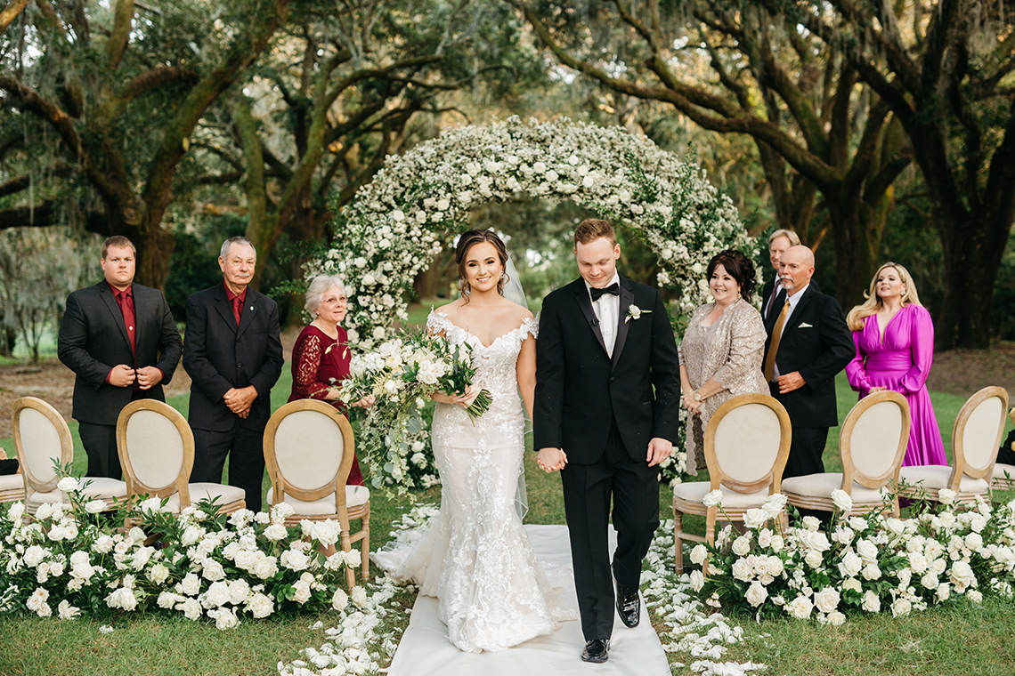 Magical Intimate Southern Wedding Under The Oak Trees – Pure Luxe Bride – Lydia Ruth Photography 4