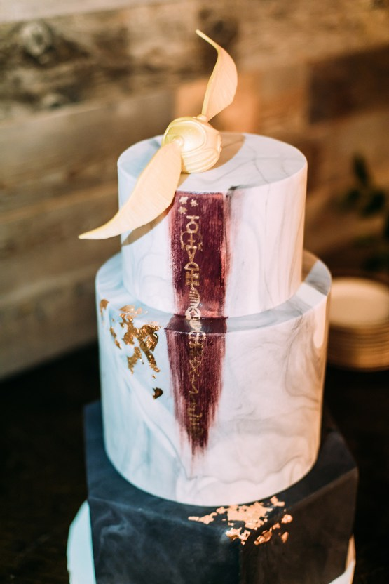 Magical Modern Harry Potter Inspired Wedding – Ashlyn Savannah Photo 16