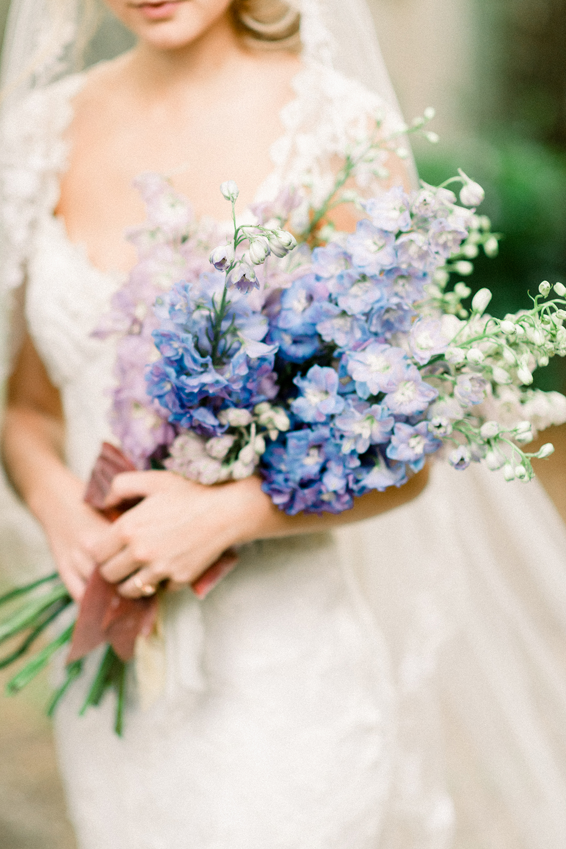 Whimsical Lilac Purple Garden Wedding Inspiration – Danielle Harris Photography 14