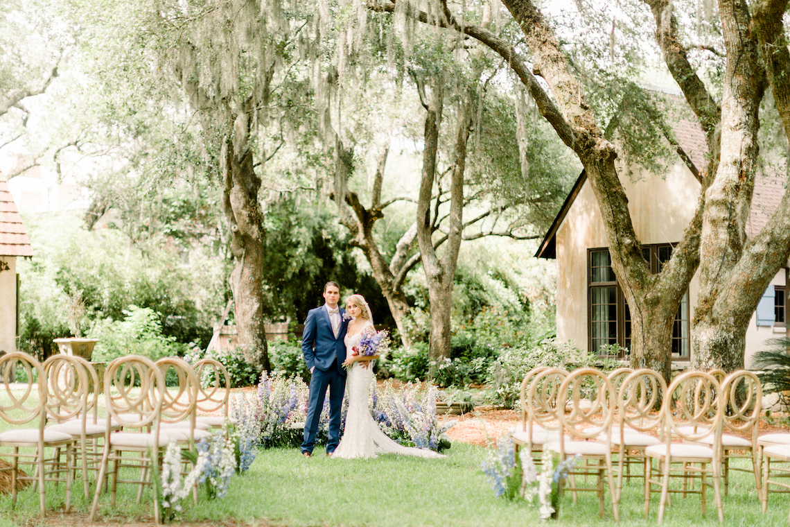 Whimsical Lilac Purple Garden Wedding Inspiration – Danielle Harris Photography 2