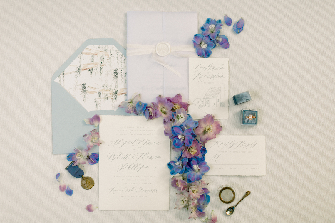 Whimsical Lilac Purple Garden Wedding Inspiration – Danielle Harris Photography 4