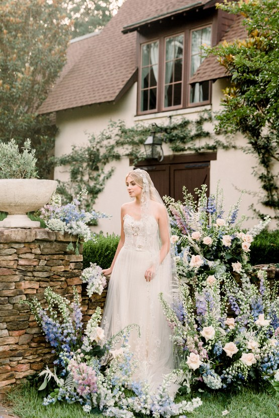 Whimsical Lilac Purple Garden Wedding Inspiration – Danielle Harris Photography 42