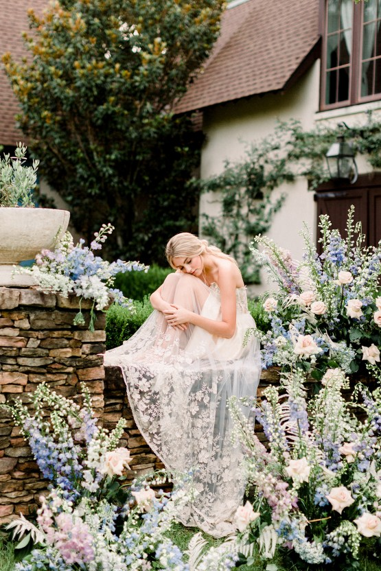 Whimsical Lilac Purple Garden Wedding Inspiration – Danielle Harris Photography 45