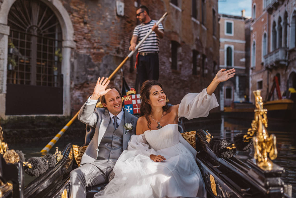 Iconic Venice Italy Wedding With Our Dream Wedding Dress – Katja and Simon Photography 23