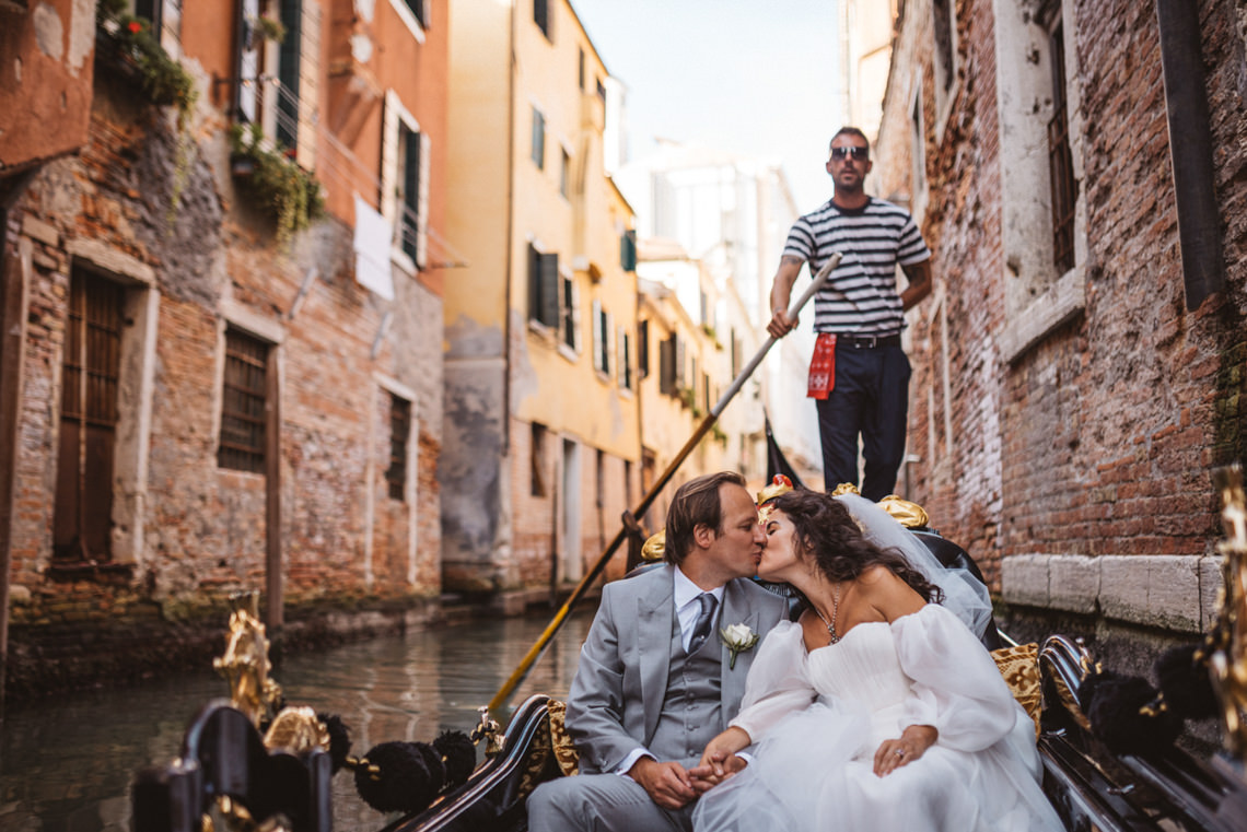 Iconic Venice Italy Wedding With Our Dream Wedding Dress – Katja and Simon Photography 25
