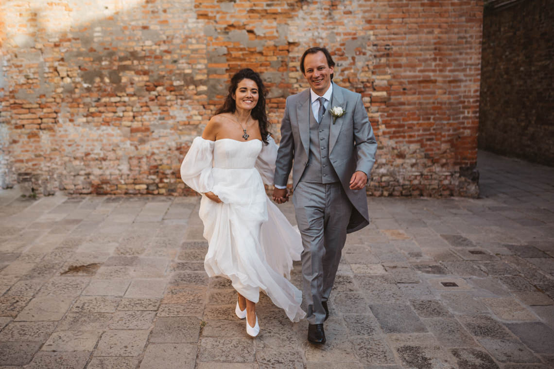 Iconic Venice Italy Wedding With Our Dream Wedding Dress – Katja and Simon Photography 28
