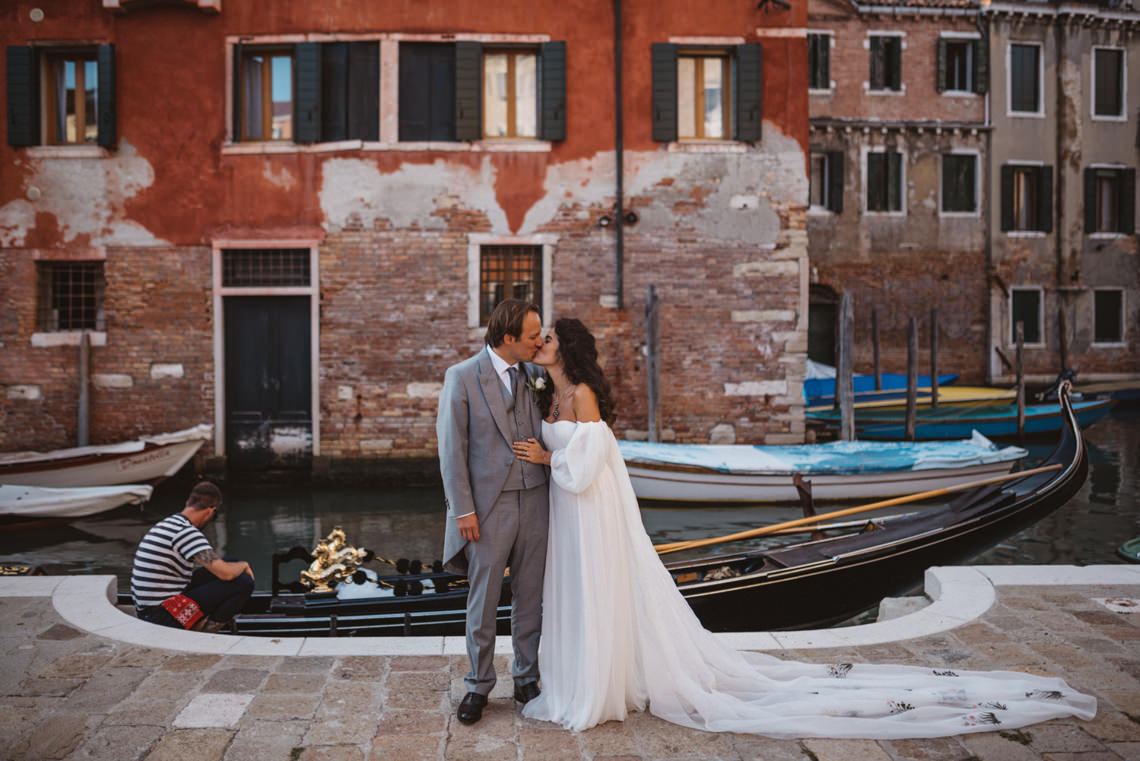 Iconic Venice Italy Wedding With Our Dream Wedding Dress – Katja and Simon Photography 29