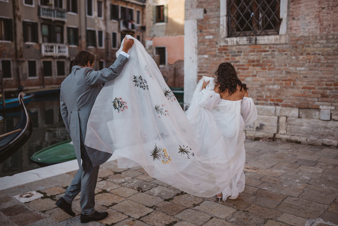 Iconic Venice Italy Wedding With Our Dream Wedding Dress – Katja and Simon Photography 30