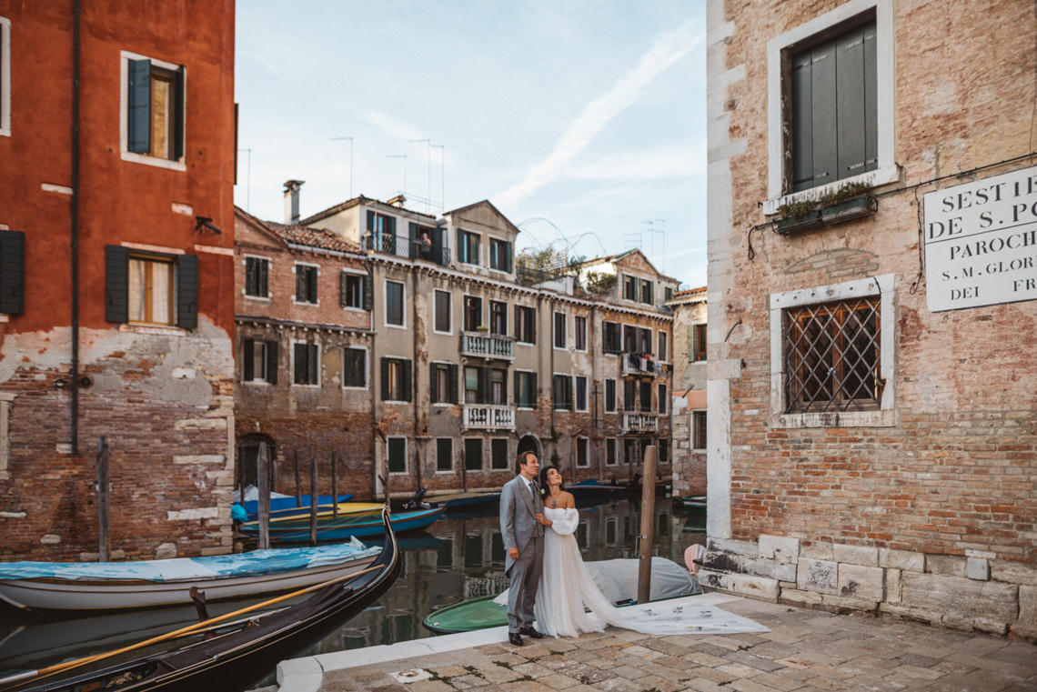 Iconic Venice Italy Wedding With Our Dream Wedding Dress – Katja and Simon Photography 31