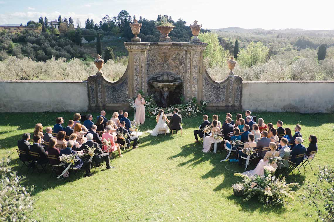Villa Medicea Tuscany Wedding – Giulia Alessandri Wedding and Event Planner – Kir and Ira Photography 33