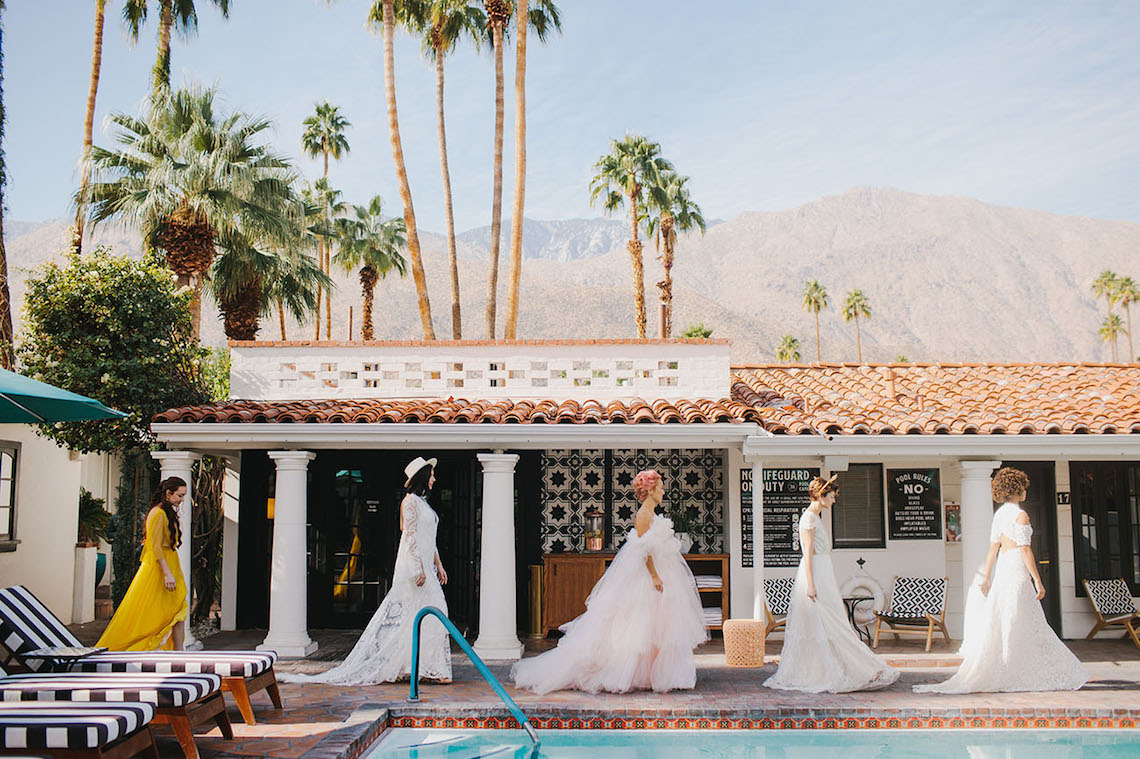 Villa Royale – Modern Love Palm Springs Event – Green Wedding Shoes – The Ultimate Guide to Getting Married in Palm Springs – Bridal Musings