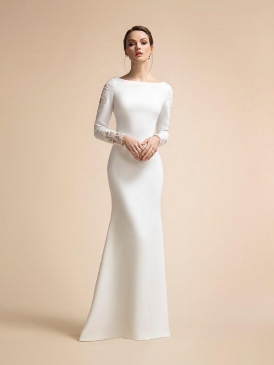 10 Flattering Wedding Dresses by Moonlight Bridal and Val Stefani – Bridal Musings 1