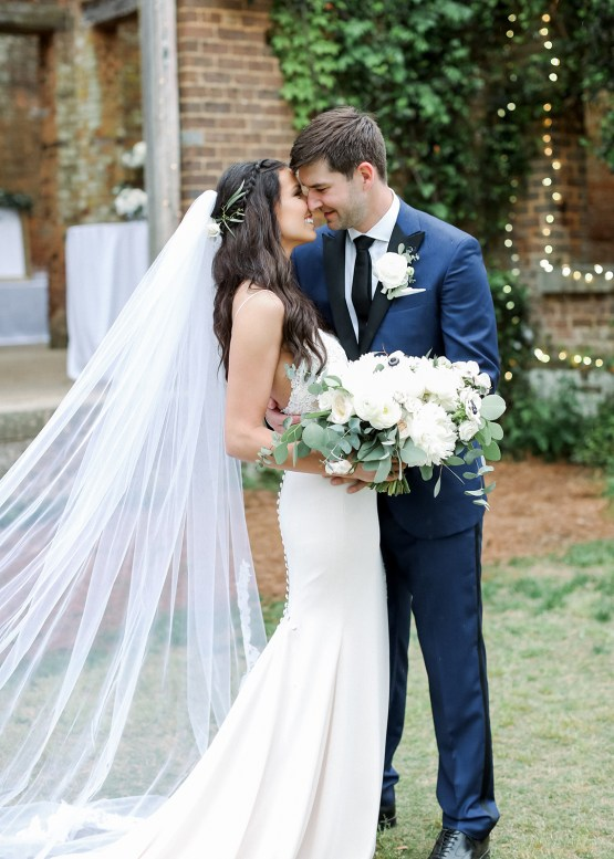 Blue Wedding at Barnsley Gardens Ruins in Georgia – Shauna Veasey 24