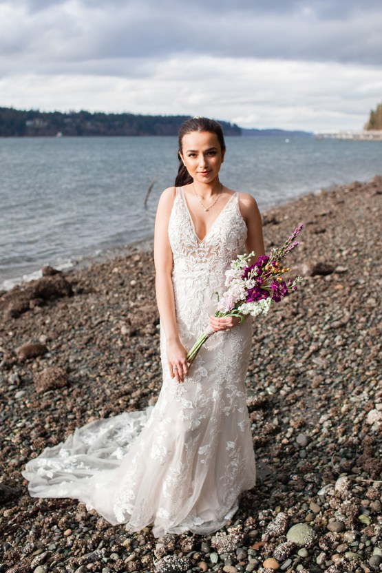 Maggie Sottero Pacific Northwest Beach Wedding Inspiration – Claire Eliza – Bridal Musings 58