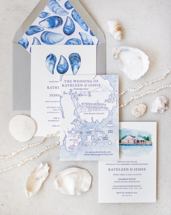 Maggie Sottero Pacific Northwest Beach Wedding Inspiration – Claire Eliza – Bridal Musings 75