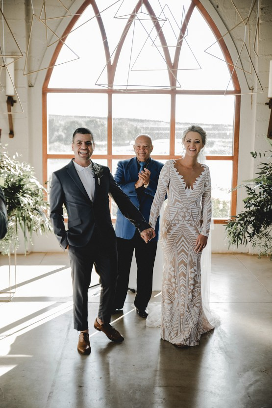 Modern Geometric Inspired South African Wedding – Conway Photography 17