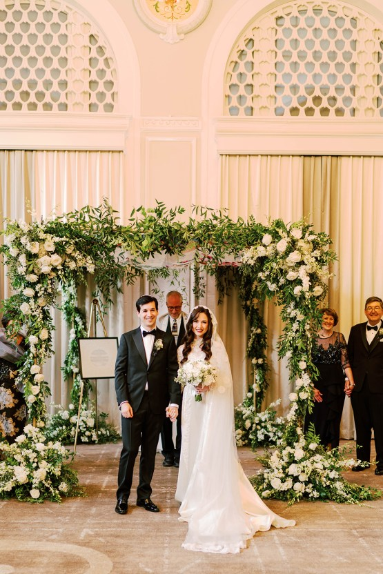 Ornate Jewish Ballroom Wedding with the Brides Grandmothers Wedding Dress – Danielle Harris Photography 60