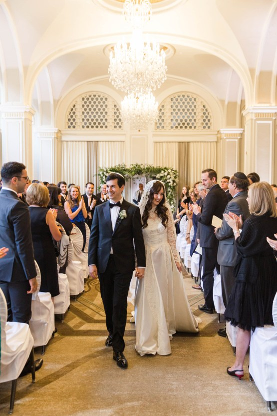Ornate Jewish Ballroom Wedding with the Brides Grandmothers Wedding Dress – Danielle Harris Photography 64