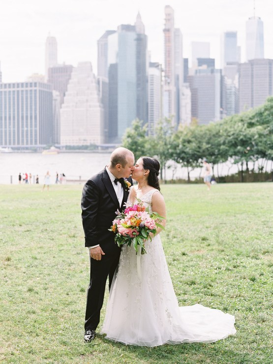 Colorful and Classy Brooklyn Bridge Jewish Wedding – Williamsburg Photo Studios 18