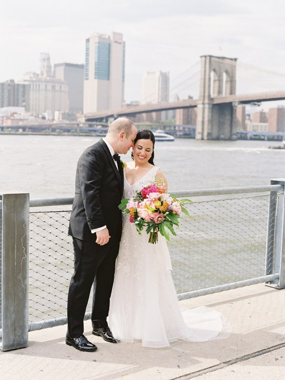 Colorful and Classy Brooklyn Bridge Jewish Wedding – Williamsburg Photo Studios 19
