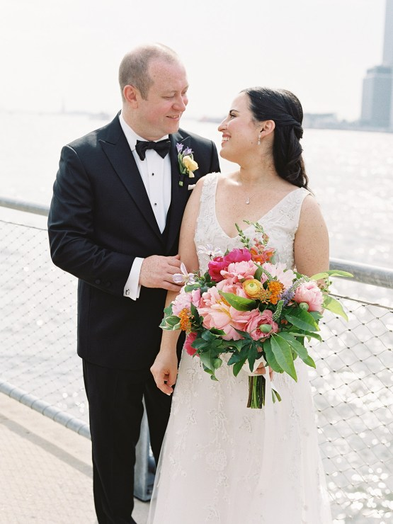 Colorful and Classy Brooklyn Bridge Jewish Wedding – Williamsburg Photo Studios 20