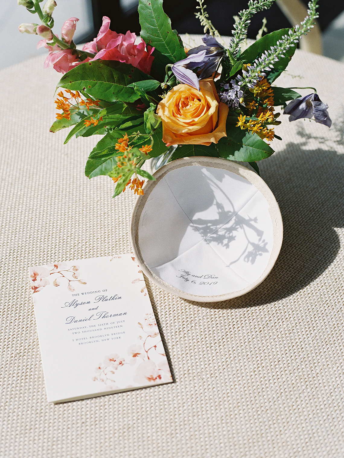 Colorful and Classy Brooklyn Bridge Jewish Wedding – Williamsburg Photo Studios 26