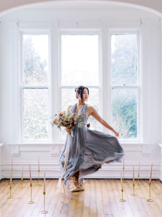 Dreamy and Ethereal Ballerina Bridal Boudoir Inspiration – Samin Abarqoi 5