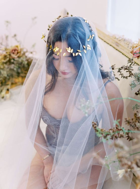 Dreamy and Ethereal Ballerina Bridal Boudoir Inspiration – Samin Abarqoi 8