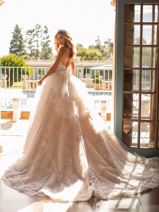 Lace Wedding Dresses in Every Silhouette – Moonlight Bridal – Val Stefani – J6797_B