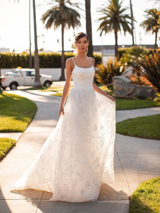 Lace Wedding Dresses in Every Silhouette – Moonlight Bridal – Val Stefani – S2163_C