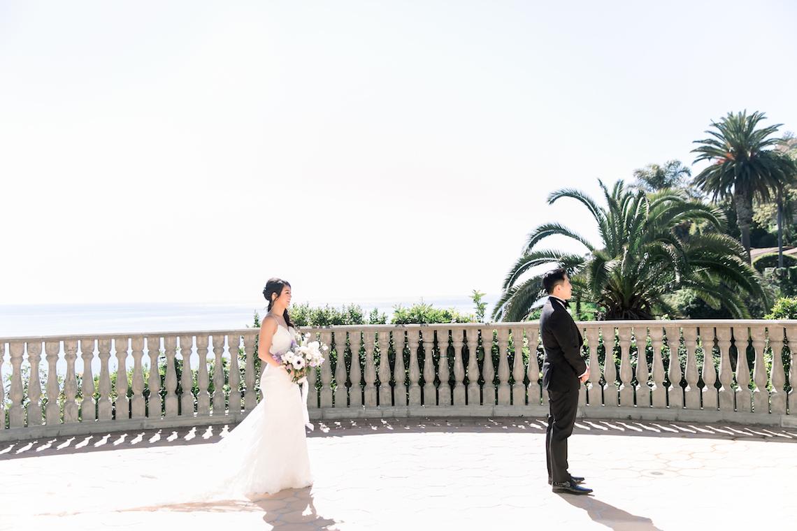 Lush Lavender Bel Air LA Wedding – Hanh Nguyen 1
