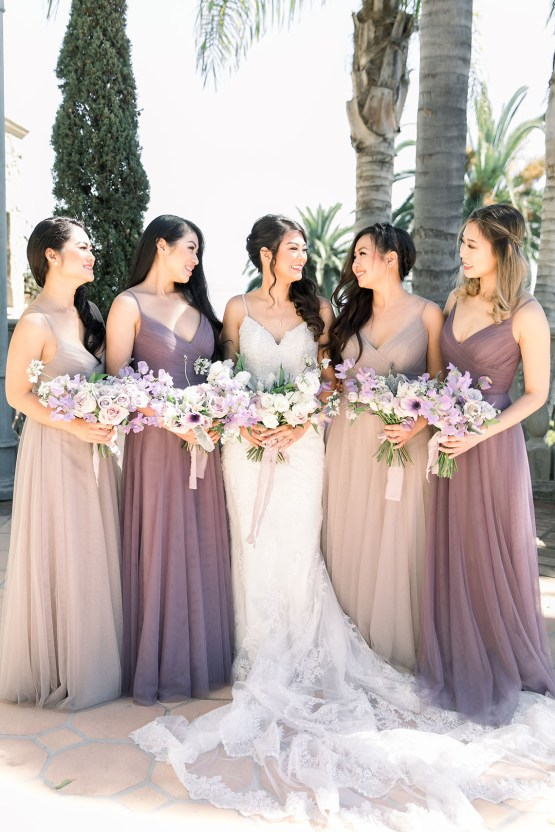 Lush Lavender Bel Air LA Wedding – Hanh Nguyen 10