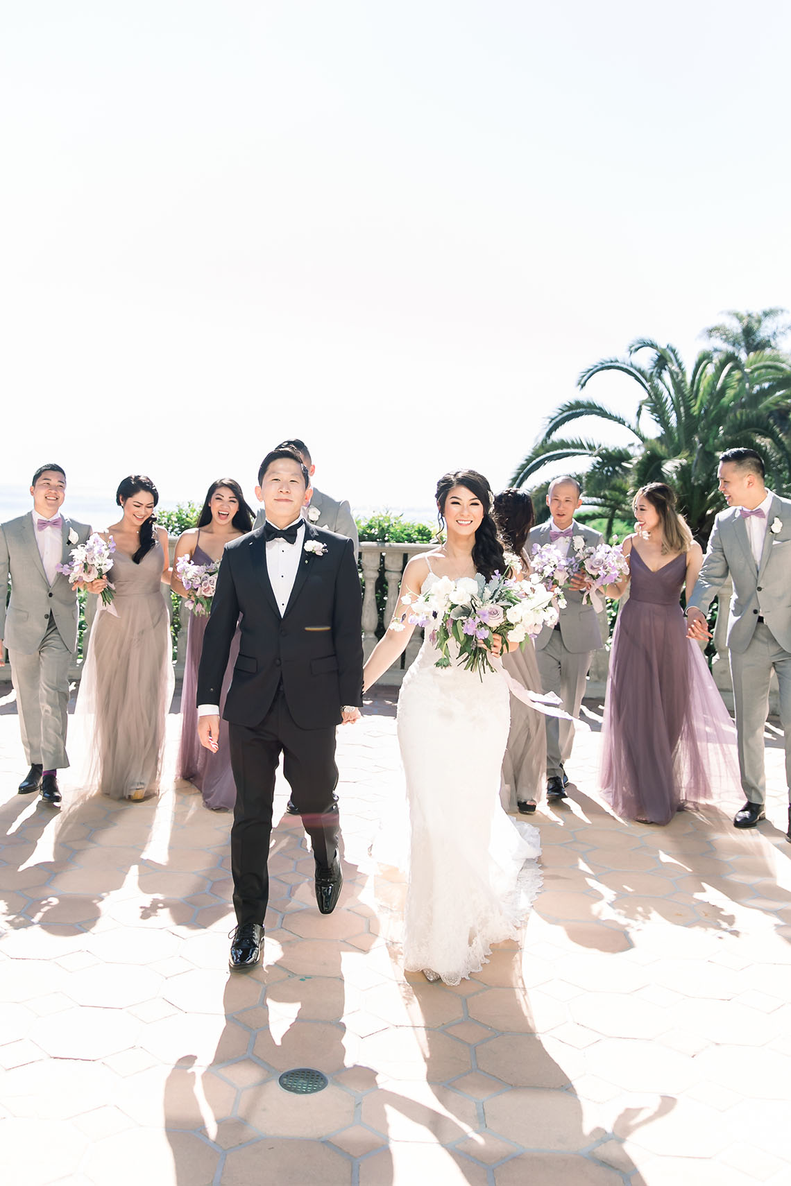 Lush Lavender Bel Air LA Wedding – Hanh Nguyen 22