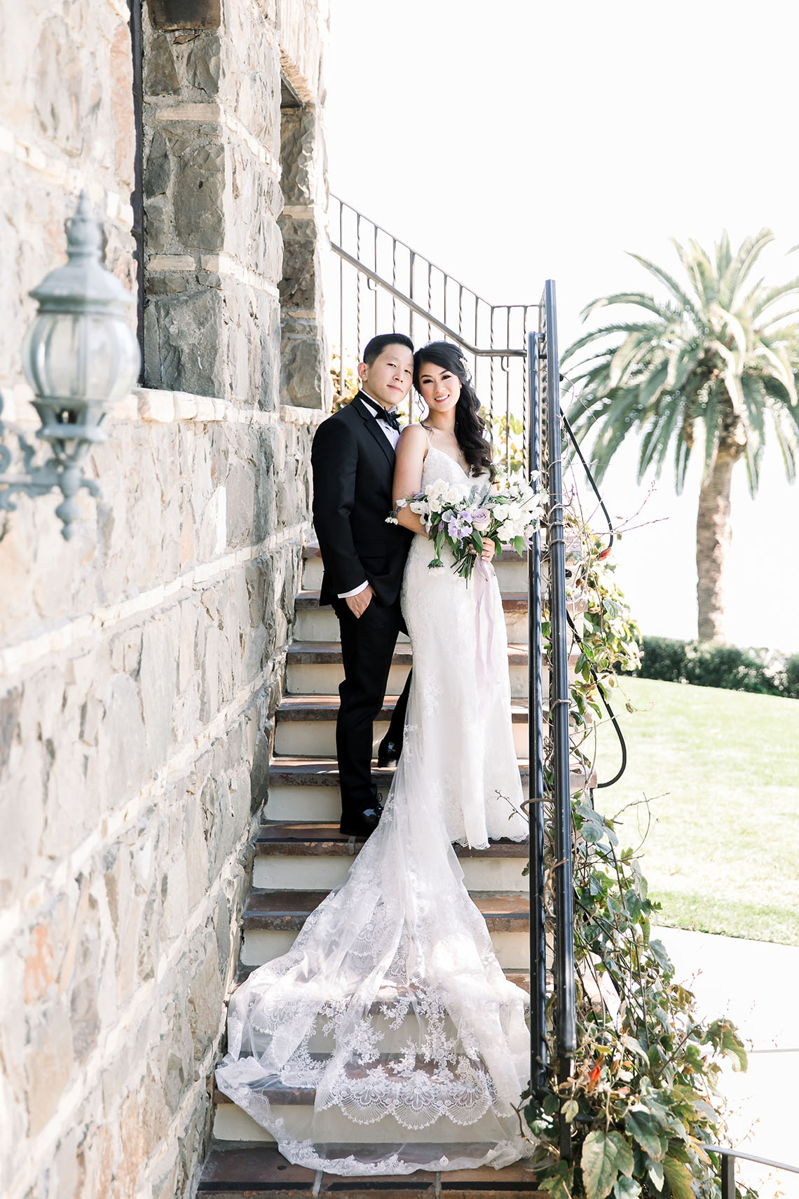 Lush Lavender Bel Air LA Wedding – Hanh Nguyen 24