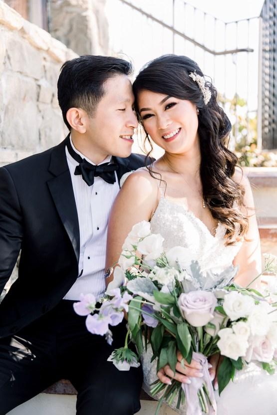 Lush Lavender Bel Air LA Wedding – Hanh Nguyen 25