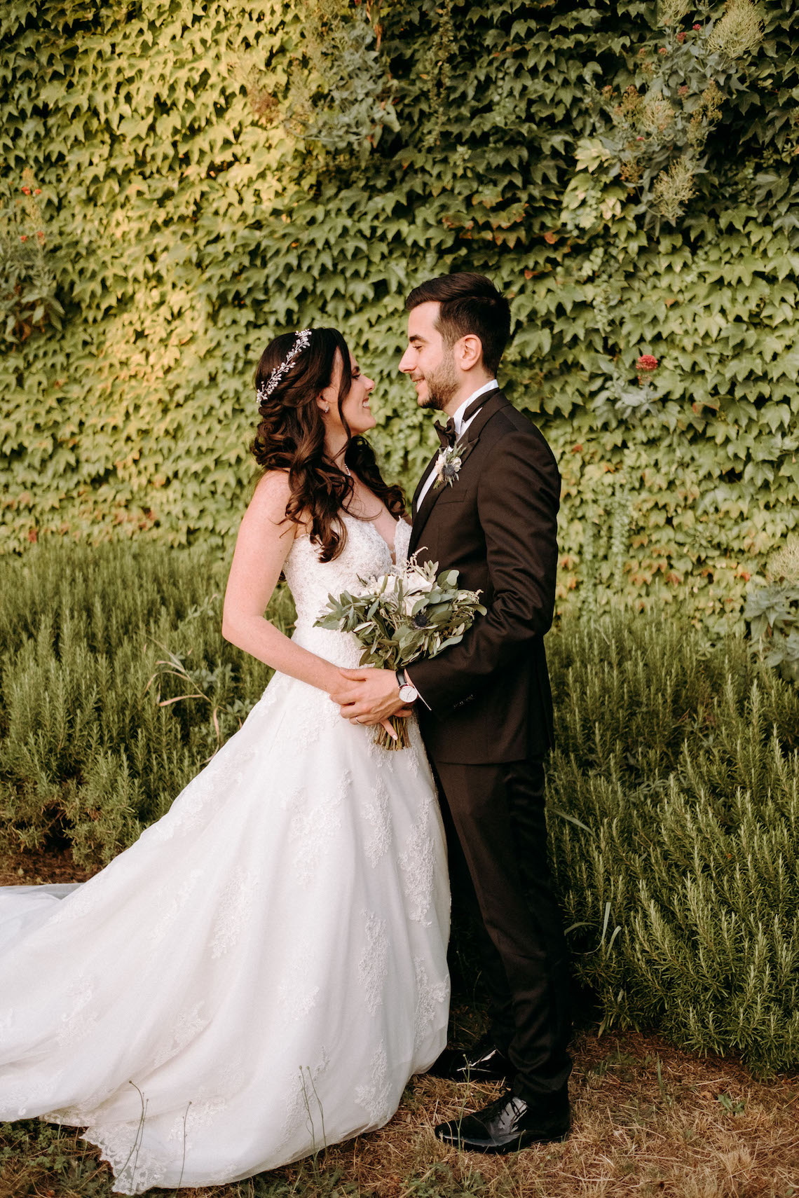 Organic and Green Tuscany Cathedral Wedding – Quattro Studio – The Tuscan Wedding 37