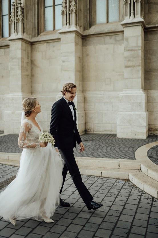 Practically Royal Classic Budapest Cathedral Wedding – Julian Gyula Zacsfalvi 28