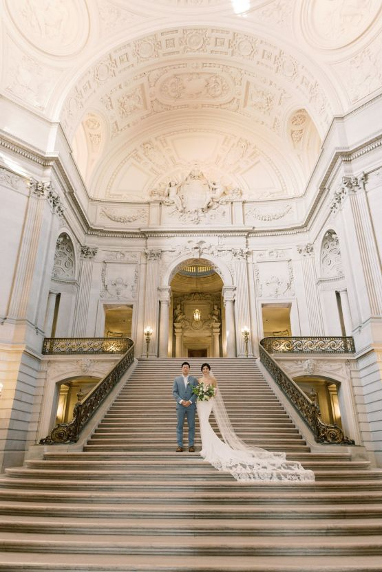 San Francisco City Hall Elopement Inspiration – Peony Park Photography 13