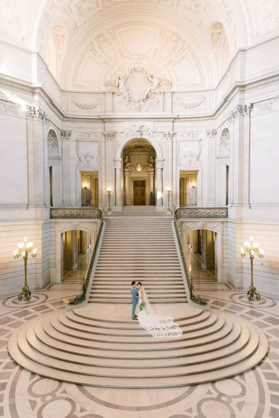 San Francisco City Hall Elopement Inspiration – Peony Park Photography 14
