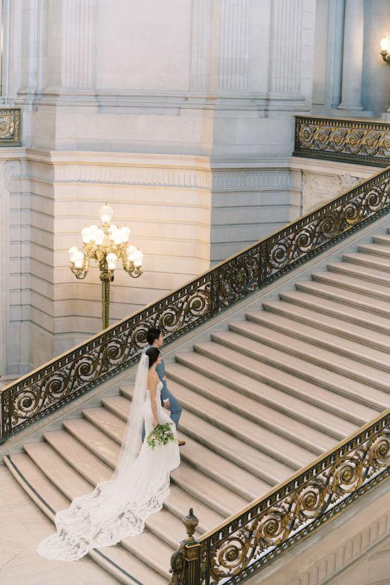 San Francisco City Hall Elopement Inspiration – Peony Park Photography 15