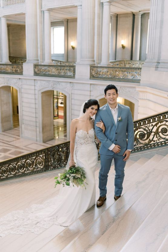 San Francisco City Hall Elopement Inspiration – Peony Park Photography 16