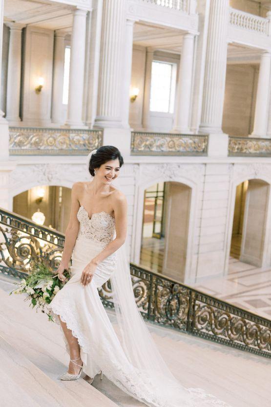 San Francisco City Hall Elopement Inspiration – Peony Park Photography 19